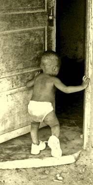 Boy in Diaper