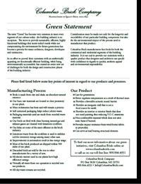 Green Statement PDF